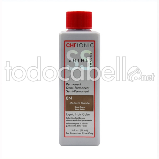Farouk Chi Ionic Shine Shades Liquid Color 8n 89ml