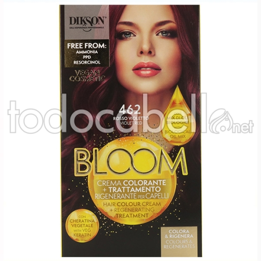 Dikson Bloom Crema Color 462 Rojo Violeta