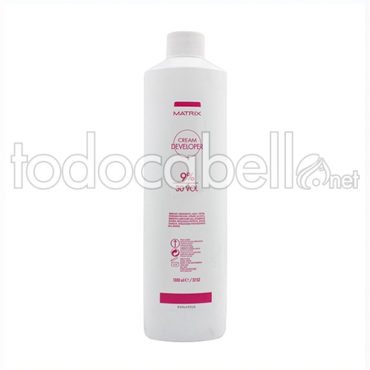 Matrix Cream Developer 9% 30vol Oxidante en crema 1000ml