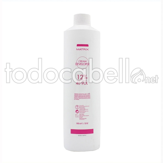 Matrix Cream Developer 12% 40vol Oxidante en crema 1000ml