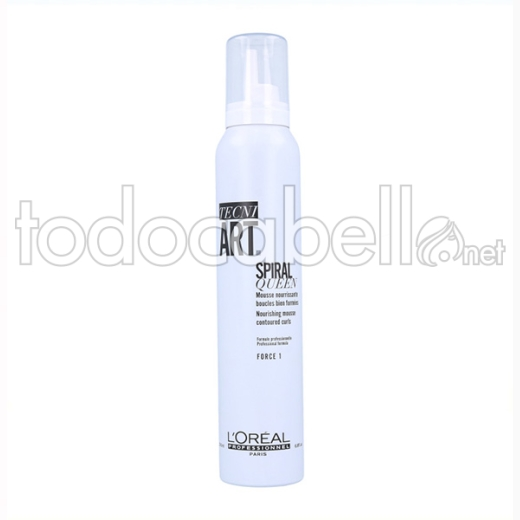 Loreal Tecniart Spiral Queen Mousse 200 Ml