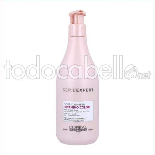 Loreal Expert Vitamino Color Soft Cleanser Soin 500 Ml
