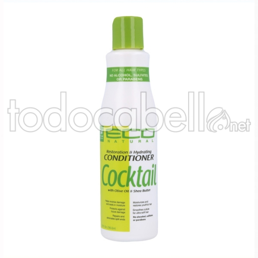 Eco Styler Cocktail Olive & Shea Butter Acondicionador 236 Ml