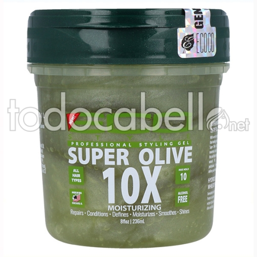 Eco Styler Styling Gel Super Olive Oil 10x 236 Ml/8oz