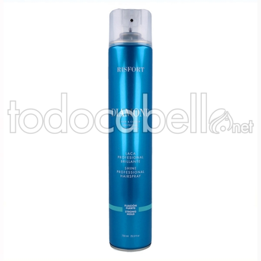 Risfort Diamond Laca/spray Fuerte 750 Ml