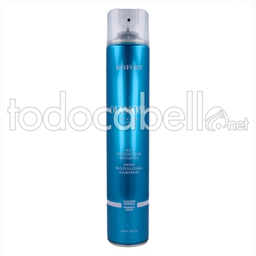Risfort Diamond Laca/spray Normal 750 Ml