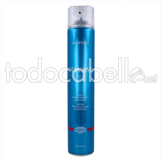 Risfort Diamond Laca/spray Extra Fuerte 750 Ml