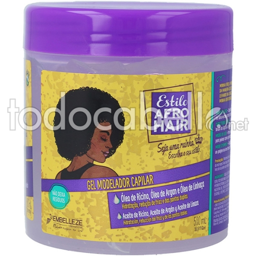 Novex Afro Hair Gel Capilar 500ml