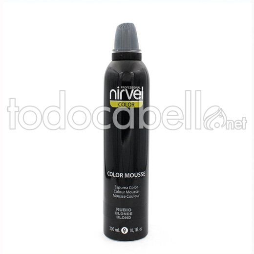 Nirvel Color Mousse Rubio 300 Ml