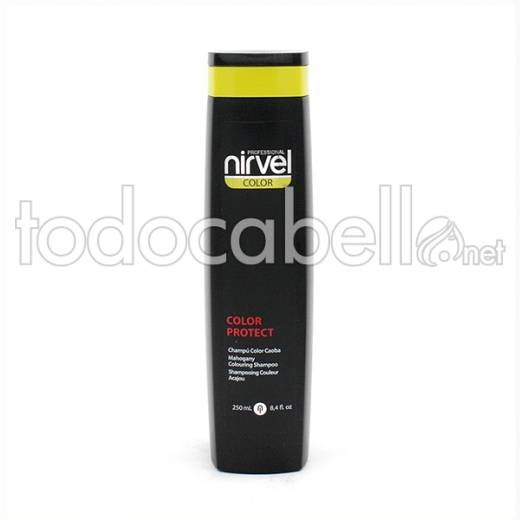 Nirvel Color ChampÚ Color Protect Caoba 250 Ml