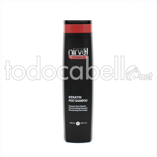 Nirvel Technica ChampÚ Keratin Post 250 Ml