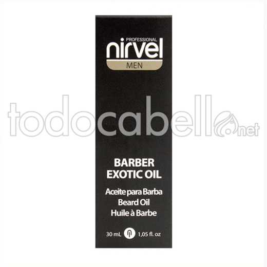 Nirvel Barber Exotic Oil 30 Ml