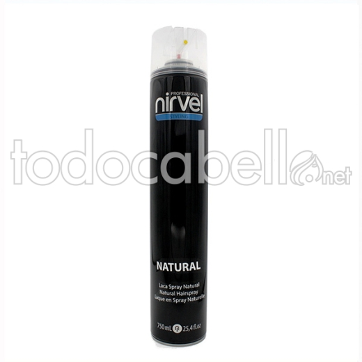 Nirvel Styling Laca Spray Natural 750 Ml