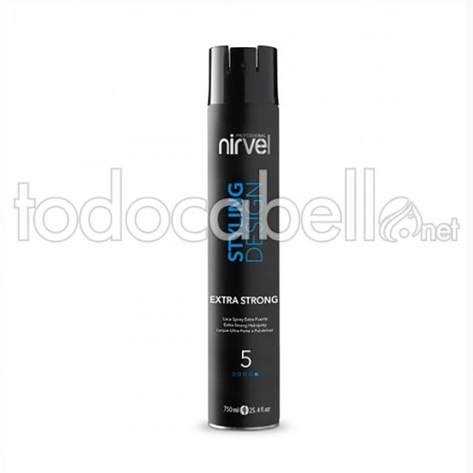 Nirvel Styling Design Laca Spray Extra Strong (5) 750 Ml