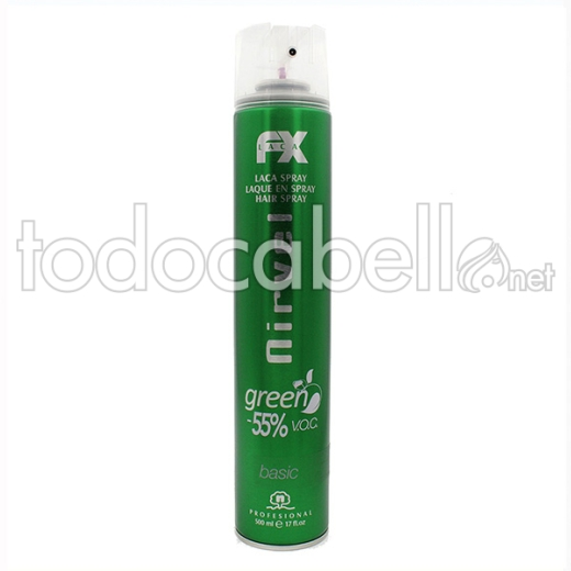 Nirvel Styling Laca Spray Green Basic 650 Ml