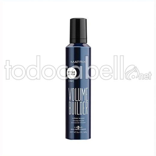Matrix Style Link Volume Builder Mousse. Espuma de volumen 247ml