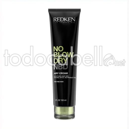 Redken No Blow Dry Airy Crema 150 Ml