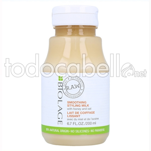 Matrix Biolage Raw Styling Smoothing Styling Milk 200 Ml