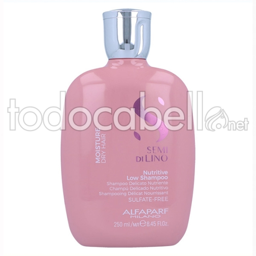 Alfaparf Semi Di Lino Moisture Nutritive Low Champú 250 Ml