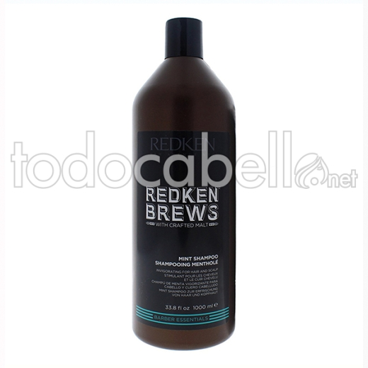 Redken Brews Champú Mint 1000 Ml