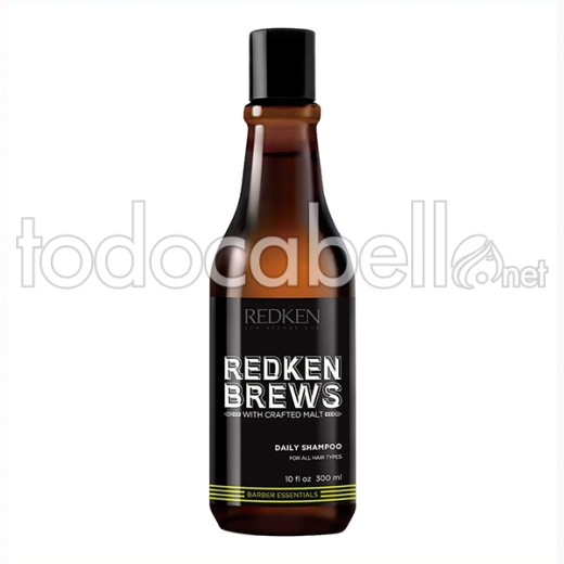 Redken Brews Champú Daily (diario)300 Ml