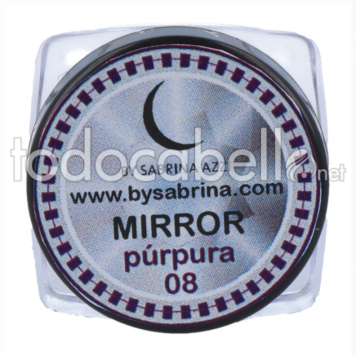 Sabrina Art Deco Mirror Powder Violet (840)