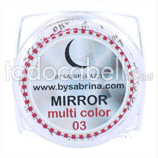 Sabrina Art Deco Mirror Powder Multicolor (842)