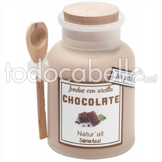 Sabrina Natur All Fondue Arcilla Chocolate 300 Ml