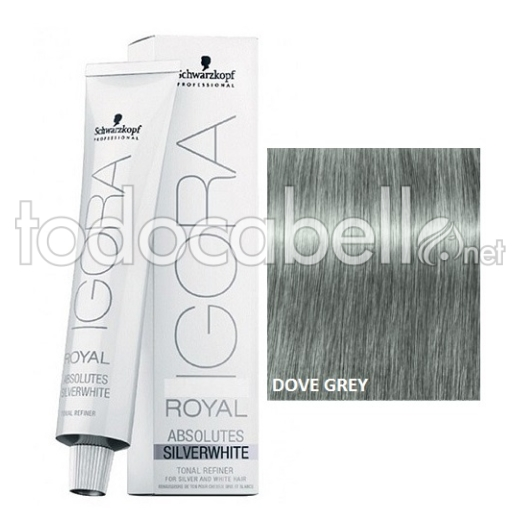 Schwarzkopf Tinte Igora Absolutes SILVERWHITE Dove Grey 60ml