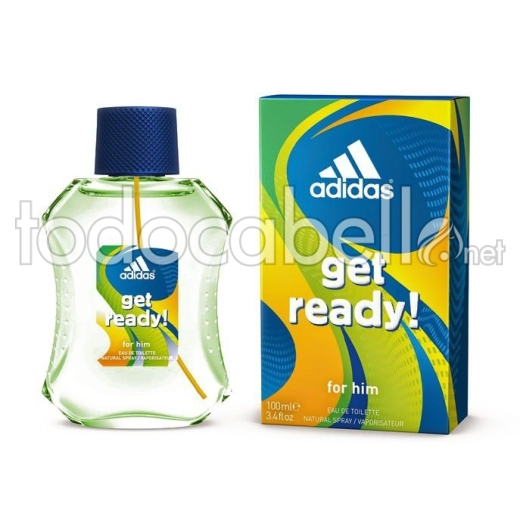Adidas Get Ready Edt 100ml Vapo