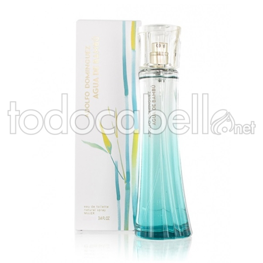 Adolfo Dominguez Bambu Aqua Woman Edt 100ml Vapo