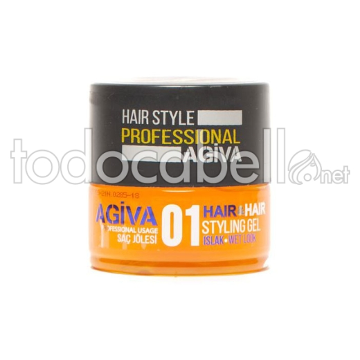 Agiva Perfect Hair Style Gel 01. Gel de peinado Wet Look 700ml