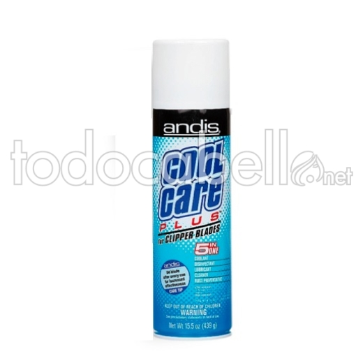 Andis Spray refrigerante 5 en 1 Cool Care Plus 439g
