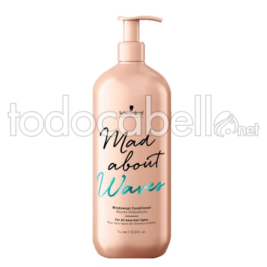 Schwarzkopf Mad About Waves Acondicionador 1000 ml