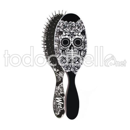 Bifull Cepillo Detangle Wet Brush ref: Catrina Black & White