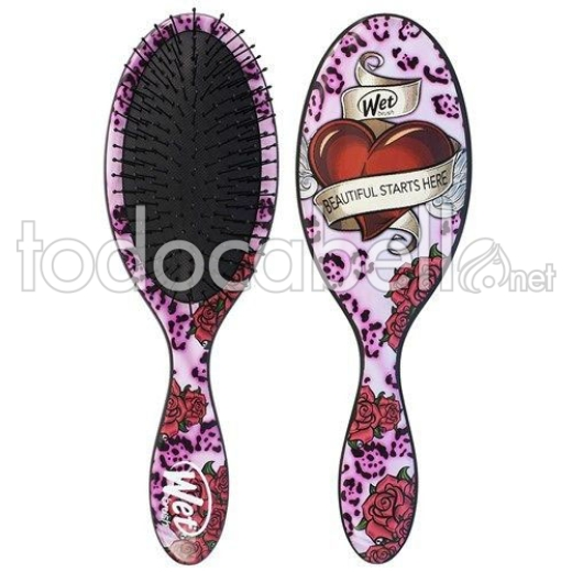 Bifull Cepillo Detangle Wet Brush ref: Tatto Pink