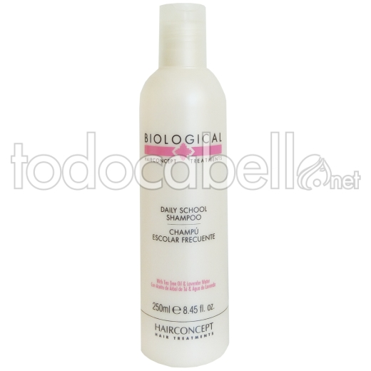 HC Hairconcept BIOLOGICAL Escolar Champú uso frecuente 250ml.