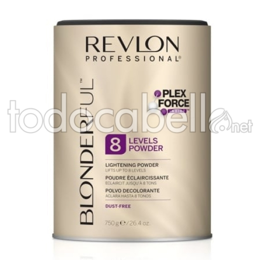 Revlon Blonderful Polvo Decolorante 8 tonos 750g