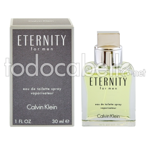 Calvin Klein Eternity for Men Edt 30ml Vapo