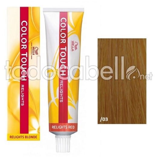 Wella Tinte Color Touch RELIGHT /03 Natural Dorado 60ml 60ml