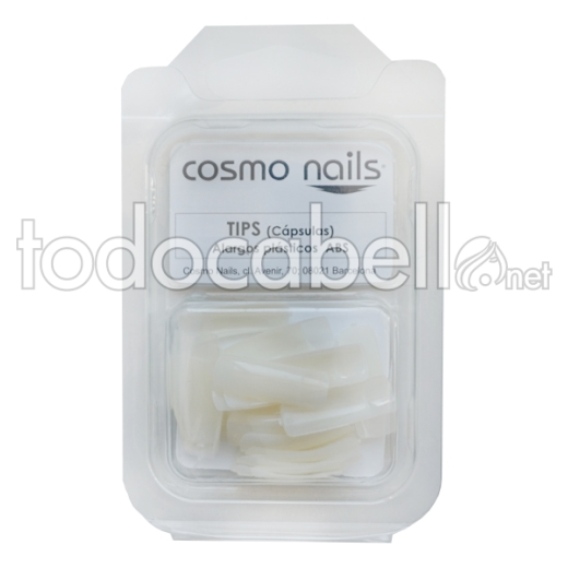 Cosmo Nails OUTLET Tips Naturales caja 25 uds nº 8