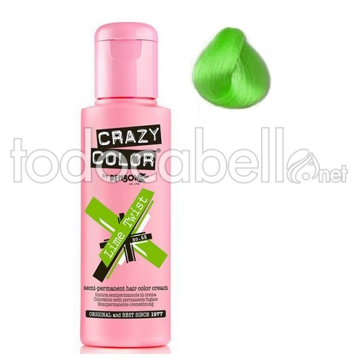 Crazy Color Nº68  Lime Twist 100ml 1