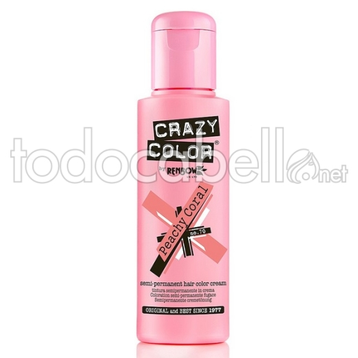 Crazy Color Nº70 Peachy Coral 100ml 1