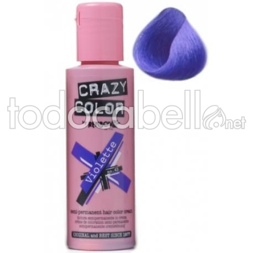 Crazy Color Nº43 Violette 100ml