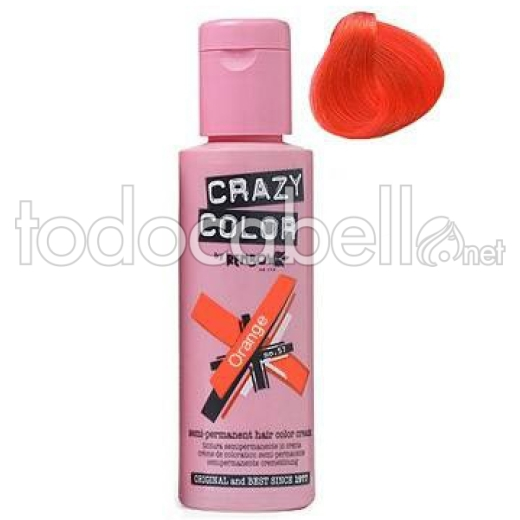 Crazy Color Nº60 Orange 100ml