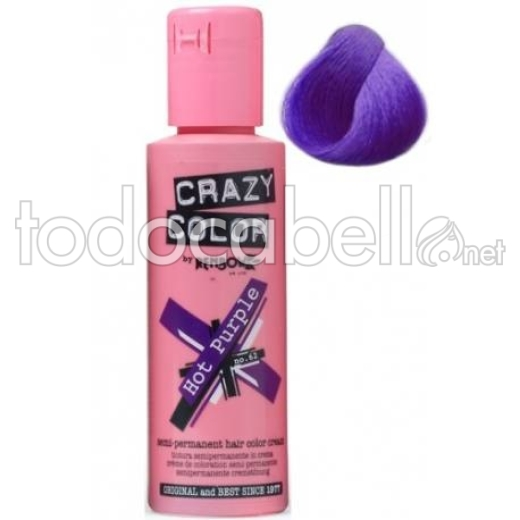 Crazy Color Nº62 Hot Purple 100ml 1