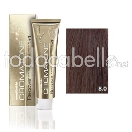 Montibel.lo Tinte Cromatone Re.Cover 8.0 Rubio Claro Natural 60g