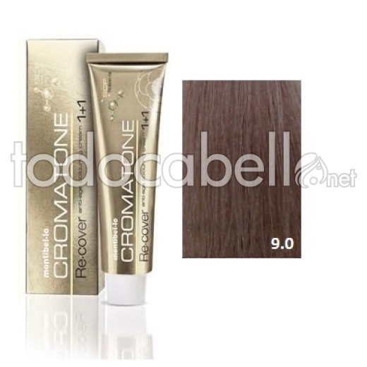 Montibel.lo Tinte Cromatone Re.Cover 9.0 Rubio Extraclaro Natural 60g