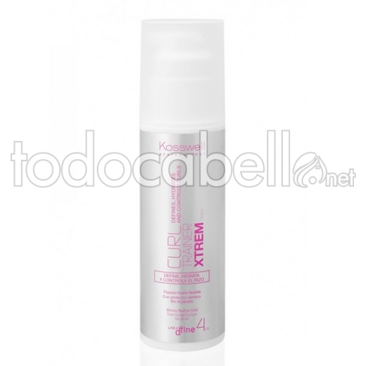 Kosswell Curl Trainer Xtrem Definidor de Rizos 150ml
