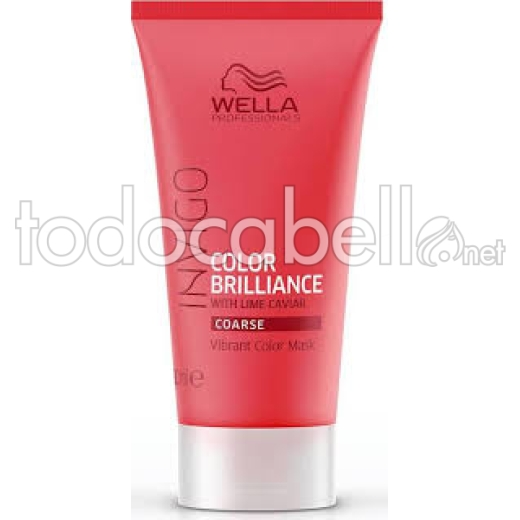 Wella MINI INVIGO BRILLIANCE Máscarilla cabellos teñidos Gruesos 30ml